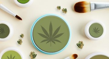cannabis infused beauty products