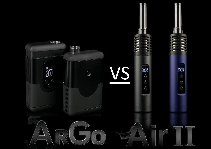 Portable Vaporizer Showdown: Arizer Air 2 vs Arizer Argo