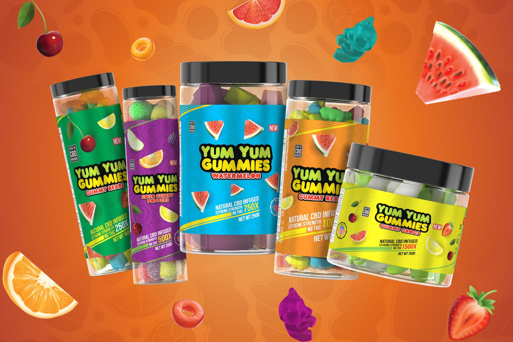 Yum Yum Gummies: Because The Best CBD Edibles Are CBD Gummies
