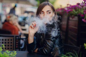 Public Discreet Smoking